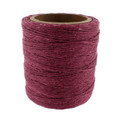 Maine Thread - Raspberry Waxed Thread