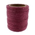 Maine Thread - Raspberry Waxed Thread