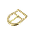 "B2325 3/4"" BOCR2, Center Bar Buckle, Solid Brass"