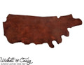 Medium Brown Traditional Harness Leather Wickett and Craig