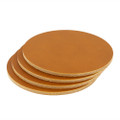 Wickett & Craig Leather Coasters - Tan