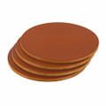 Wickett & Craig Leather Coasters - Burgundy