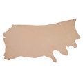 2-2.5oz French Veg Tanned Sides, Grade #1-2, Natural Tooling Leather