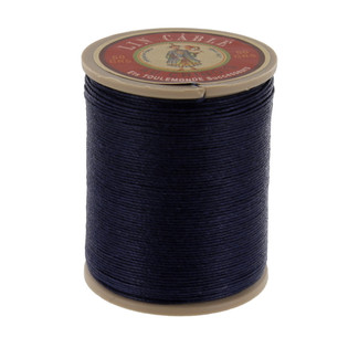 246 Matelot, Navy, Fil Au Chinois - Lin Cable - Waxed Linen Thread