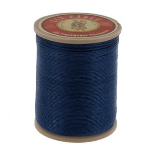 266 Bleu, Blue, Fil Au Chinois - Lin Cable - Waxed Linen Thread