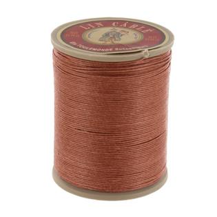 330 Daim, Fawn, Fil Au Chinois - Lin Cable - Waxed Linen Thread