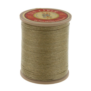 359 Gris, Grey, Fil Au Chinois - Lin Cable - Waxed Linen Thread