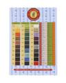 Fil Au Chinois - Lin Cable - Waxed Linen Thread, Orange (JTLC-OR)