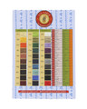 Fil Au Chinois - Lin Cable - Waxed Linen Thread, Brick (JTLC-BI)