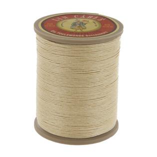 571 Bis, Ecru, Fil Au Chinois - Lin Cable - Waxed Linen Thread