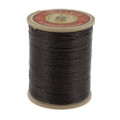 901 Marron Fonce, Dark Brown, Fil Au Chinois - Lin Cable - Waxed Linen Thread