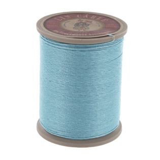 677 Turquoise, Fil Au Chinois - Lin Cable - Waxed Linen Thread