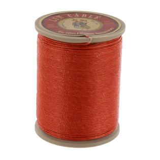 420 Citrouille, Pumpkin, Fil Au Chinois - Lin Cable - Waxed Linen Thread