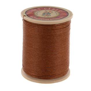 374 Bronze, Fil Au Chinois - Lin Cable - Waxed Linen Thread