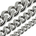 B8840 Nickel Plate, Two-Side Flat Chain, Solid Brass-LL