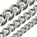 B8835 Nickel Plate, Round Chain, Solid Brass-LL