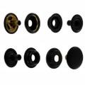 S15B51 black matte snap fasteners
