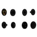 SN10B11 black matte snap fasteners