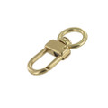 "521 5/8"" Natural Brass, Swivel Lever Snap, Solid Brass-LL"