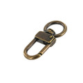 "521 5/8"" Antique Brass, Swivel Lever Snap, Solid Brass-LL"