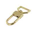 "530 1"" Natural Brass, Swivel Lever Snap, Solid Brass-LL"