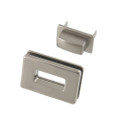 B8707 Nickel Matte, Rectangle Magnetic Closure, Zinc