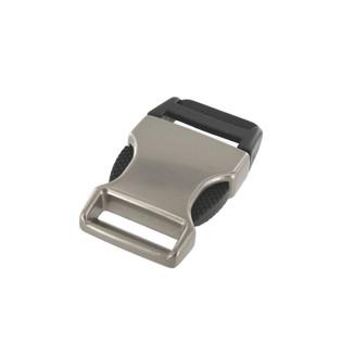 1 inch nickel matte plated side release buckle