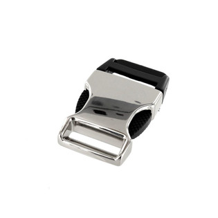 1 inch nickel plated side release buckle