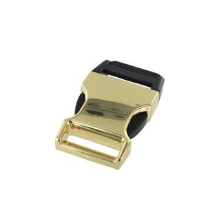 1 inch Brass side release buckle
