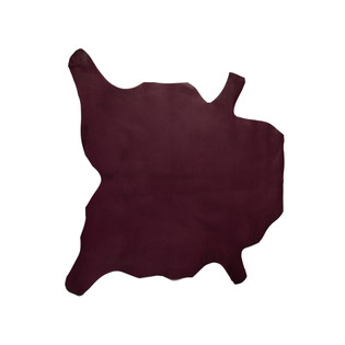 Buffalo Calf Leather Hide Purple