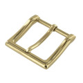 "B8790 1 1/2"" Polished Brass, Heel Bar Dress Dress Buckle, Solid Brass-LL"