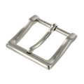 "B8790 1 1/2"" Brushed Nickel, Heel Bar Dress Dress Buckle, Solid Brass-LL"