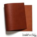 Leather Panel Wickett & Craig Bridle - Chestnut