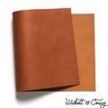 Leather Panel Wickett & Craig Bridle - Tan
