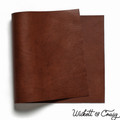 Leather Panel Wickett & Craig Milled Traditional Harness - Medium Brown