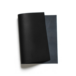 Korba Buffalo Calf Leather Panel - Black