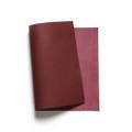 Korba Buffalo Calf Leather Panel - Bordeaux
