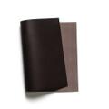 Korba Buffalo Calf Leather Panel - Dark Brown