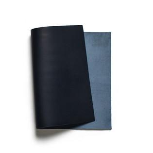 Korba Buffalo Calf Leather Panel - Dark Navy