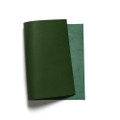 Korba Buffalo Calf Leather Panel - Peacock Green