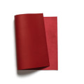 Korba Buffalo Calf Leather Panel - Red