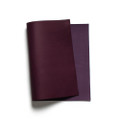 Korba Buffalo Calf Leather Panel - Purple