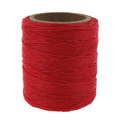 Maine Thread Waxed Cord, 70 yard spool, Flame Red