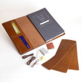 DIY Refillable leather journal kit