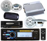 Sony Waterproof Marine MP3 Radio iPod Tune Tray 4 x Speakers 4 Channel Amp Cover