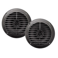 New Enrock EKMSB52 Pair 100 Watts 5.25''  Waterproof Black Marine  Speakers