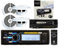 Sony DSXMS60 Waterproof Boat iPod Tune Tray MP3 AUX Radio With 4 x 6.5 Speakers