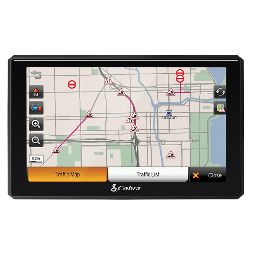 """8200 PRO HD 7"""" Professional Navigation with Live Traffic and Lifetime Map Updates"""