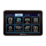 New Cobra 7600 PRO 7-Inch Navigation GPS for Professional Driver System