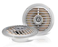 Pair EKMSS52 Enrock 100 Watts 5.25'' Waterproof Marine Speakers (Silver)